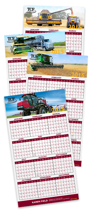 Calendar created by Strategic Imaging