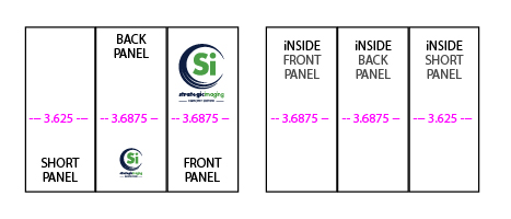 Panel Sizing for 8.5x11 Roll-Fold